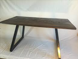 Office Desks Wood Made Modern Office Desk Wood Top With Metal Base By Dallas