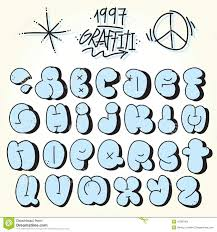 graffiti bubble alphabet print graffiti alphabet style bubble