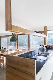 awesome modern kitchen island with serving area with wooden