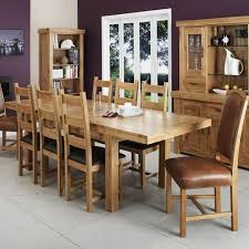 get an oak dining room table and enhance your dining room home decor