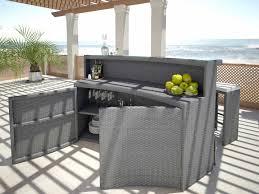 tavoli da giardino rattan artelia set tavolo sgabelli bar flaminia