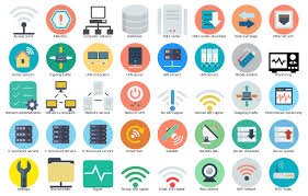 Home Server Network Design Ivr Network Vector Stencils Library Ivr Network Vector