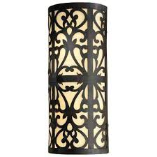 Minka Lavery Bathroom Lighting Sconce Minka Lavery Outdoor Sconces 2 Light Iron Oxide Wall