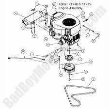 bad boy mower parts lookup 2017 zt elite engine kohler kt740 u0026 kt745