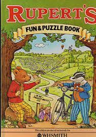 rupert bear rupert u0027s fun u0026 puzzle book 1983 ebay
