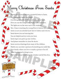 elf letter template sign up for a letter from santa santa u0027s mailbag inc