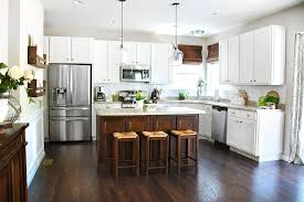 White Island Kitchen White Cabinets Kitchen Island For Your Home