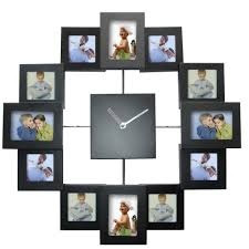 aliexpress com buy european style photo frame wall clock modern