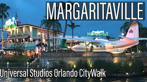 Citywalk Orlando Map Margaritaville Restaurant At Universal Citywalk Orlando Youtube