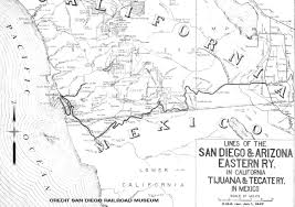 Tecate Mexico Map by Sd U0026ae