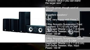 powered home theater speakers onkyo sks ht993thx 7 1 ch thx home theater speaker system youtube