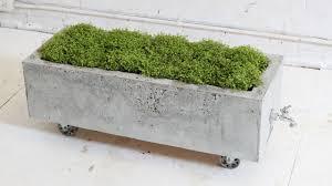 diy concrete planter episode homemade modern makeovers how to make