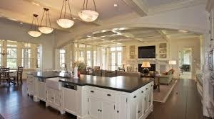 kitchen living room open floor plan cool living room open floor plan kitchen dining house plans 39592
