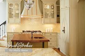 kitchen cabinets brushstrokes by mary anne chalk paint milk