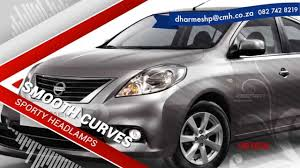 nissan almera rear bumper all new nissan almera youtube
