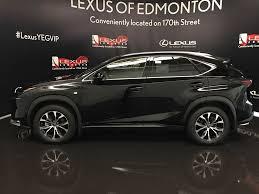 black lexus used 2017 lexus nx 200t 4 door sport utility in edmonton ab l12746