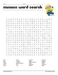 minions word free printable allfreeprintable