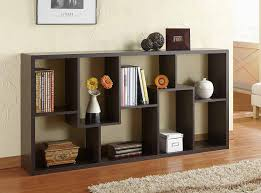 amazon com furniture of america oasis open back bookcase walnut