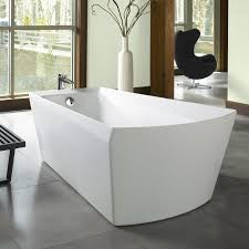 toto aby964n soirée freestanding soaking bathtub the mine