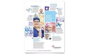 medical u0026 health care flyer templates word u0026 publisher