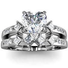 heart shaped wedding rings wedding rings engagement ring heart shaped diamond
