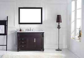 48 single sink bathroom vanity virtu usa 48 bathroom vanity set victoria single round sink