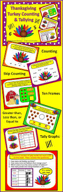 smartboard thanksgiving math counting and tallying thanksgiving