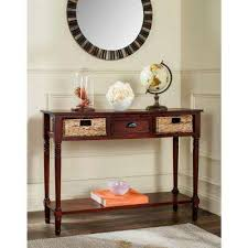 Safavieh Console Table Safavieh Red Accent Tables Living Room Furniture The Home