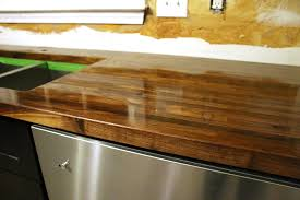 How To Install Butcher Block Countertops by How To Cut Seal U0026 Install Butcherblock Countertops With An