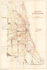 Chicago Suburb Map by Chicago U0027s Gangland Empire Revealed In Detailed Map Daily Mail Online