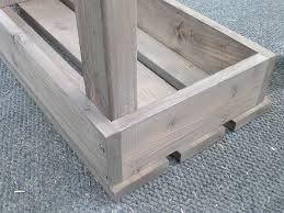 Plans For A Wooden Bench by Best 25 Garden Bench Seat Ideas On Pinterest Wooden Bench Seat