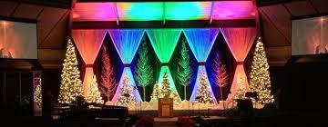 a rainbow church stage design ideas bridge ideas