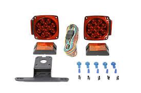 maxxhaul 70205 12 volt led trailer light kit new ebay