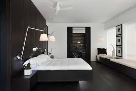 Black White And Teal Bedroom Contemporary Black And White Rooms In Elegant Penthouse With