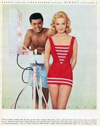 sandra dee and james darren for u0027gidget u0027 beach party movies