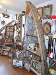 Canoe Bookcase Ideas How To Reuse Old Boats Refurbished Ideas
