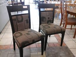 fine fabric dining chairs pier one table and c with decorating