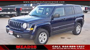 used jeep patriot used 2016 jeep patriot for sale fort worth tx