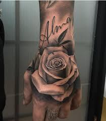 de 24 bedste billeder fra rose tattoos på pinterest