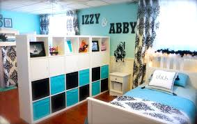 tidy teenage bedroom images with black and blue ornament and