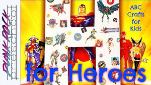 letter h for heroes fun preschool crafts for kids best