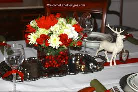 dining room table christmas centerpiece dining room decor ideas
