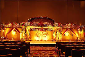 wedding stage flower decorations indian south wedding backdrop