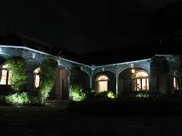 Where To Place Landscape Lighting Free Images Light Architecture House Arch Evening