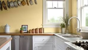 Kitchen Yellow Walls - white kitchen cabinets with yellow walls exitallergy