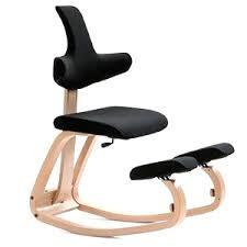de bureau ergonomique 6 avec dossier si ge ges assis genoux et