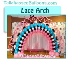 tallahassee balloon arches and archway parties events