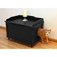 boomer u0026 george carter mid century modern cat litter box hayneedle