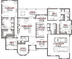 floor palns 4 bedroom house floor plans home planning ideas 2018