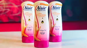 nair hair removal lotion how to use demo review youtube